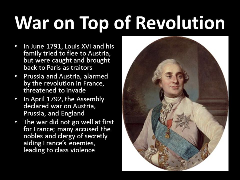 War on Top of Revolution