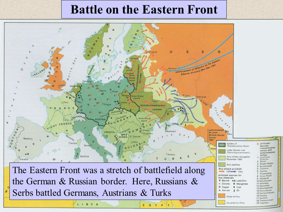 Battle on the Eastern Front