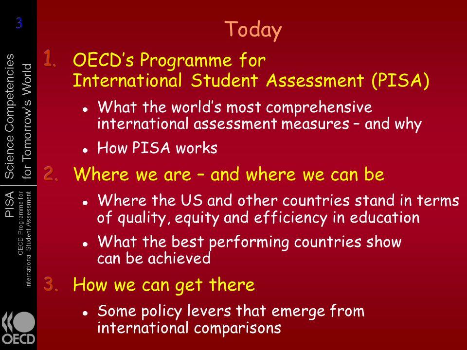 1. OECD's Programme for International Student Assessment (PISA)