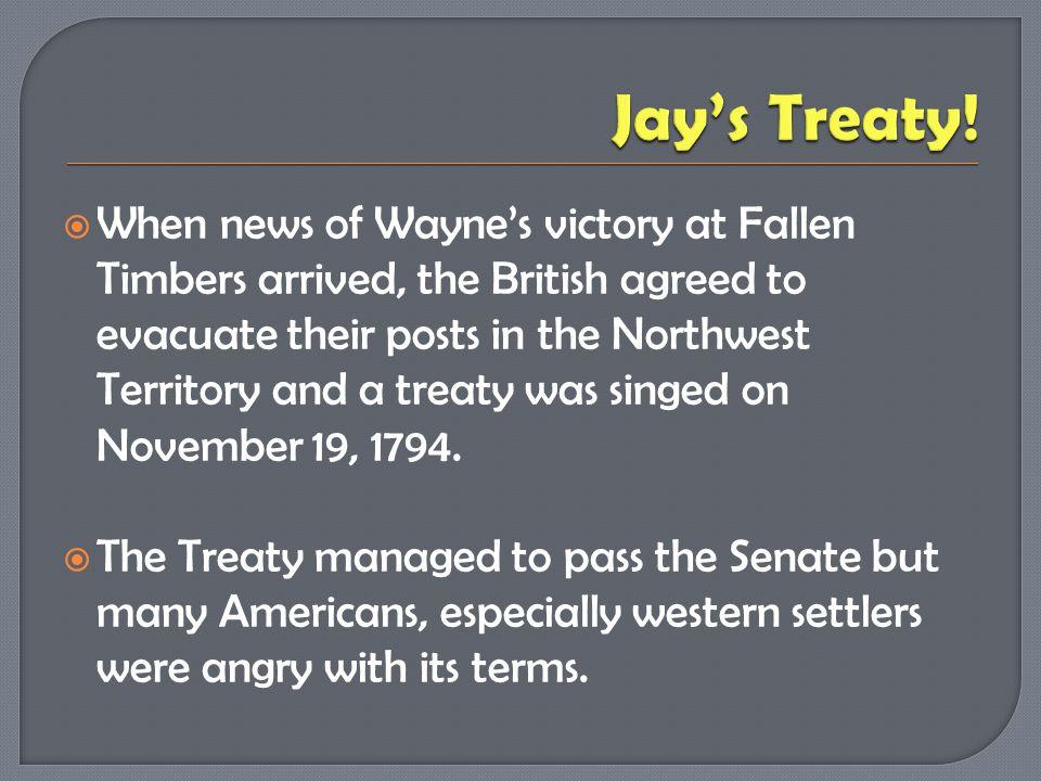 Jay's Treaty!