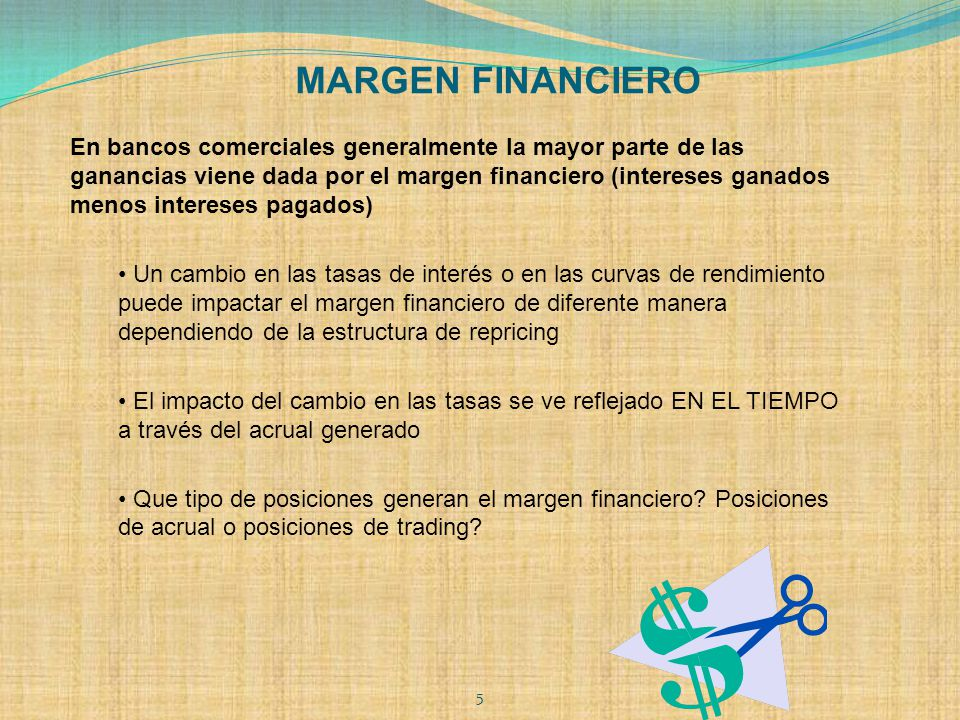 MARGEN FINANCIERO