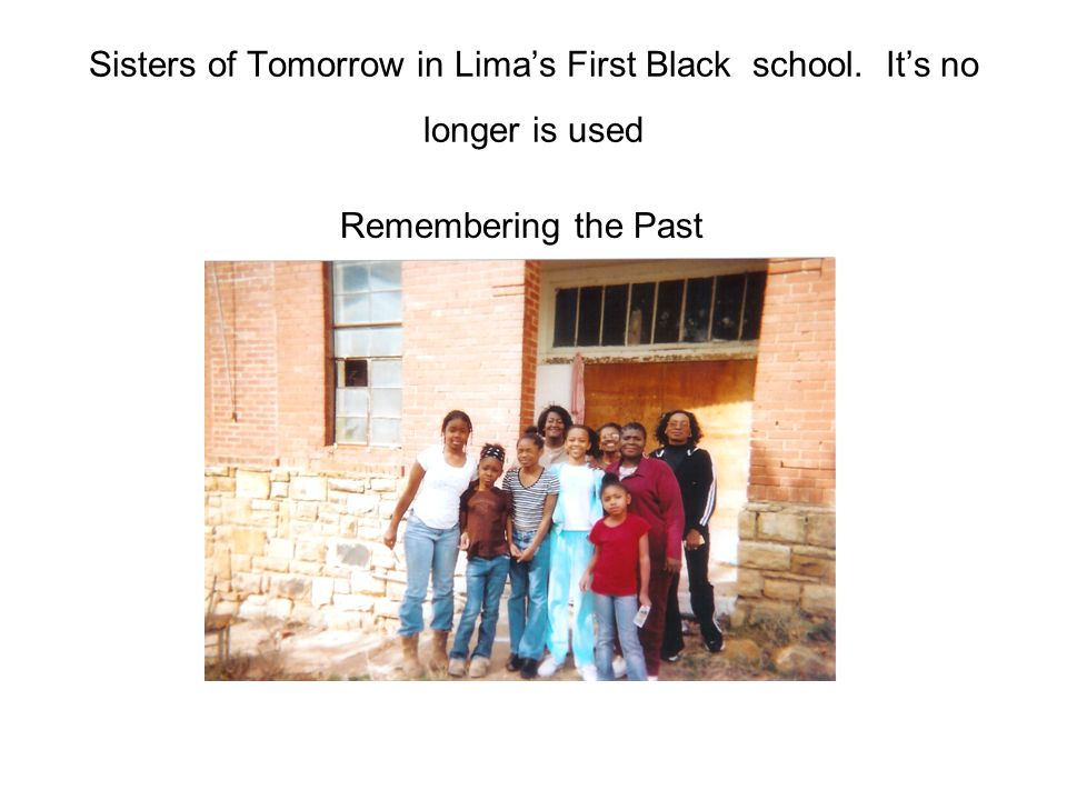 Sisters of Tomorrow in Lima's First Black school