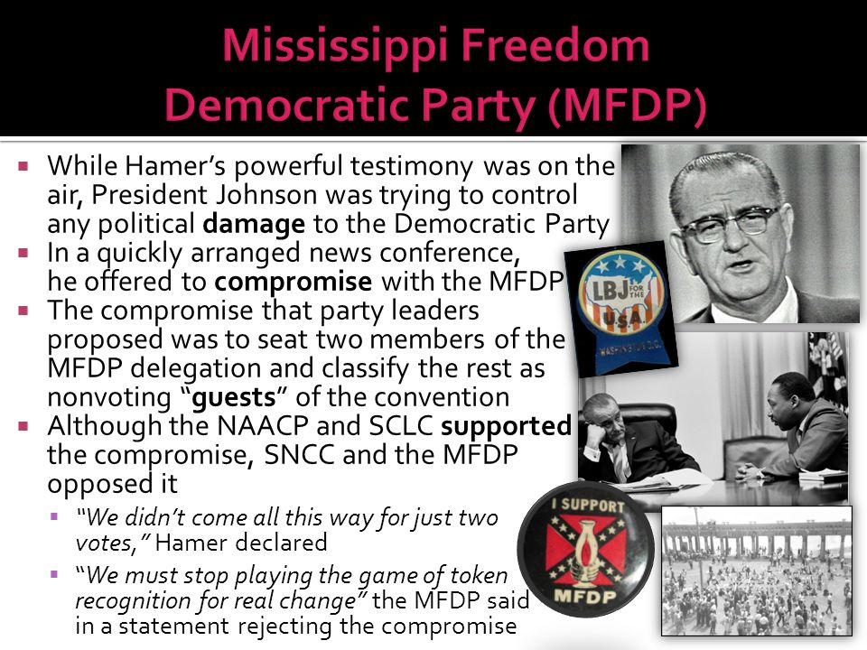 Mississippi Freedom Democratic Party (MFDP)