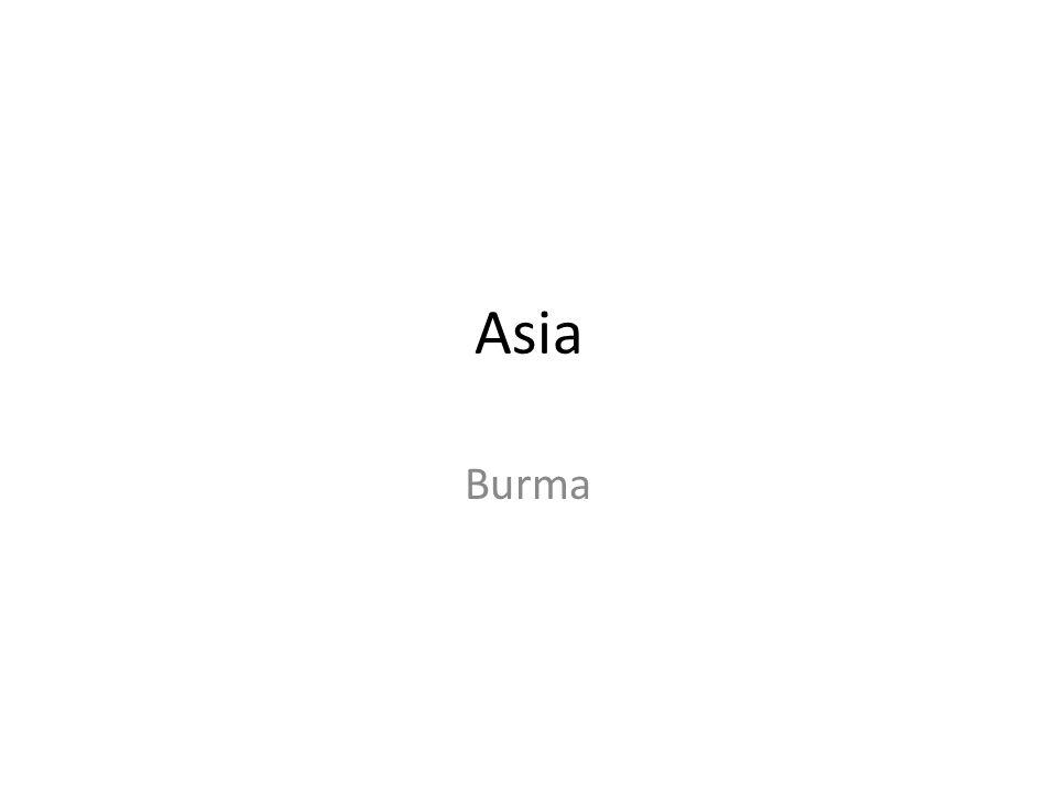 Asia Burma