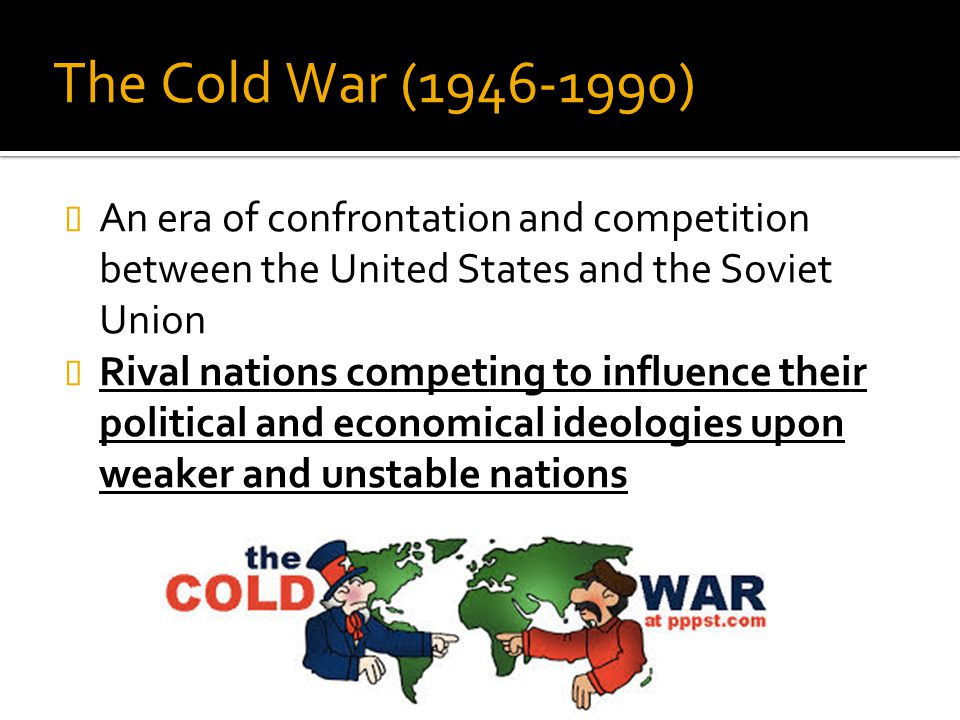 an analysis of the military competition between the united states and the soviet union Soviet military doctrine undertaken by rand for the united states air force   study provides an analysis of soviet thinking and debate on these issues, against  the  the competition between moscow and peking for the allegiance of nationa   internal military debate within the soviet union and the external strategic.