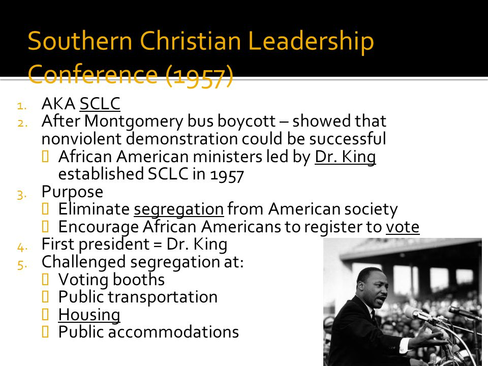 Southern Christian Leadership Conference (1957)