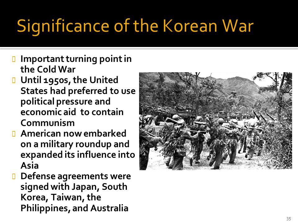 Significance of the Korean War