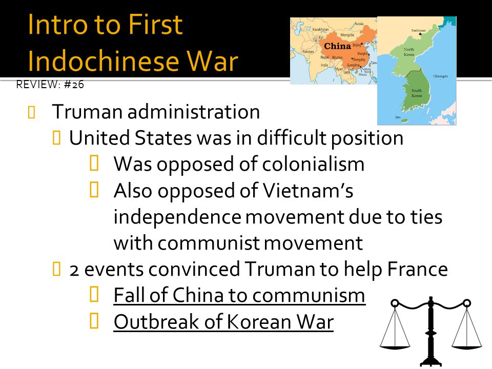 Intro to First Indochinese War