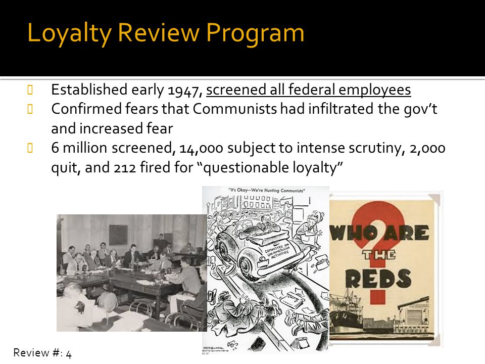 Loyalty Review Program