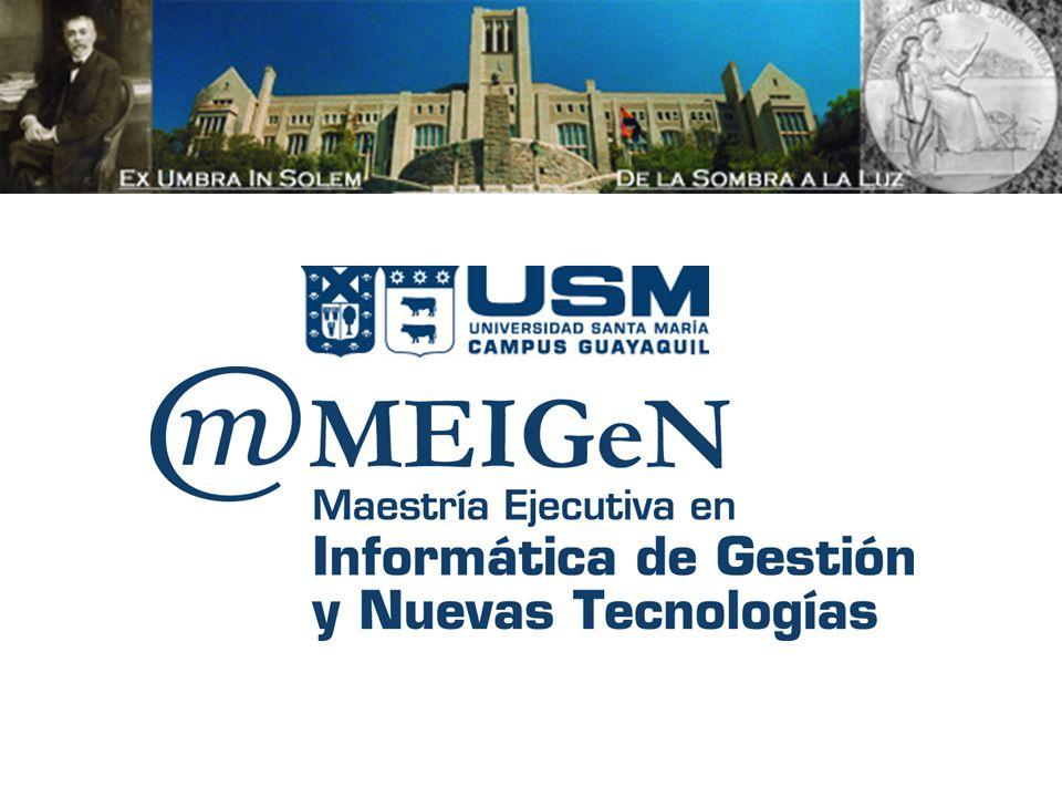 Magister Profesional en Tecnologías de la Información - Módulo Gestión de Proyectos y Cambio