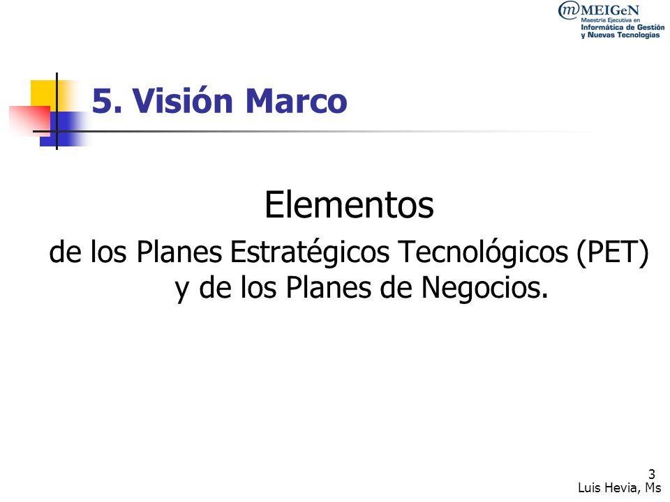 Elementos 5. Visión Marco