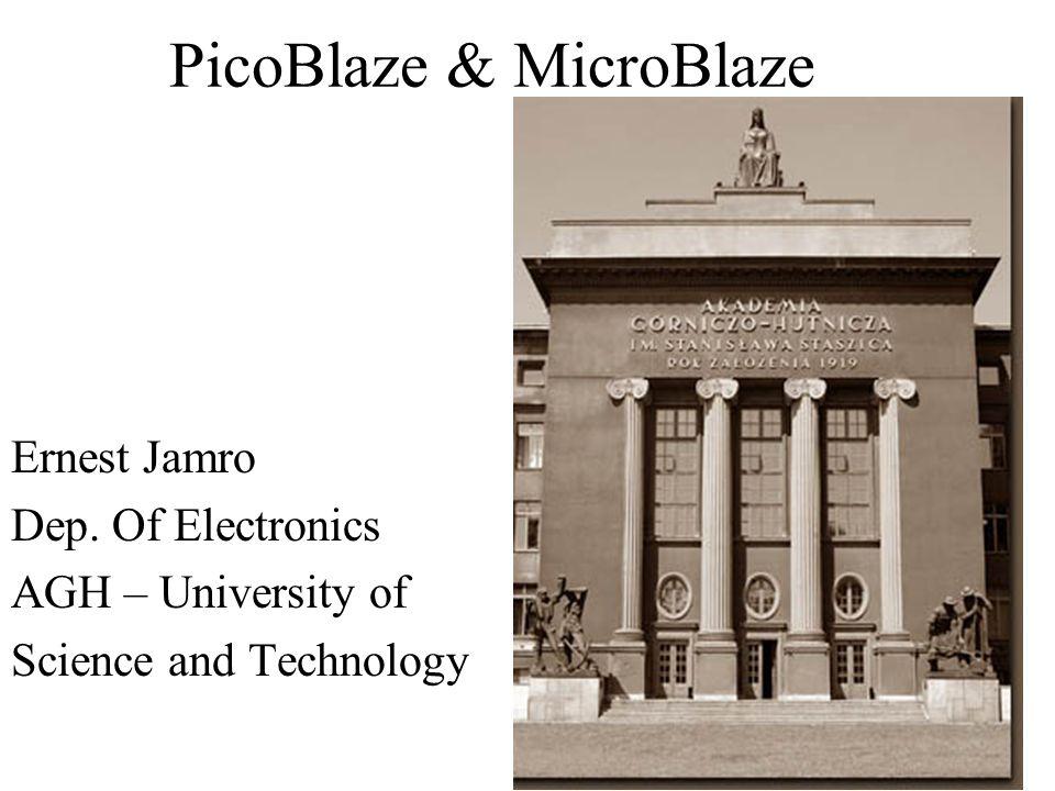 PicoBlaze & MicroBlaze
