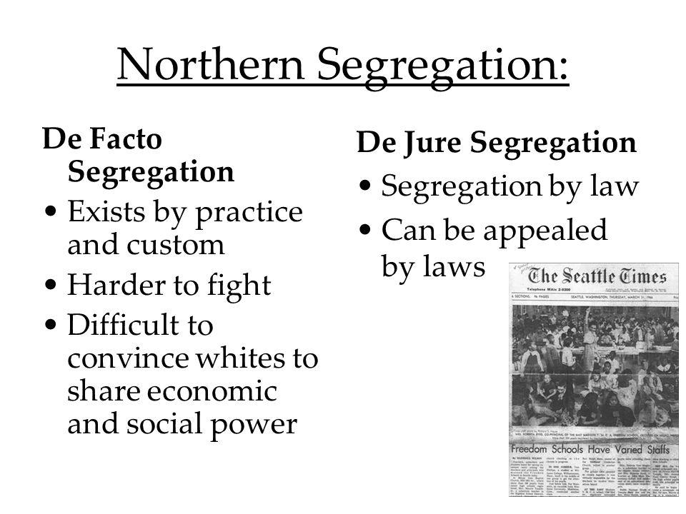 Northern Segregation:
