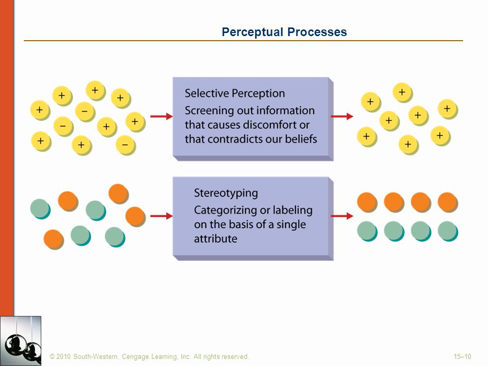 Perceptual Processes © 2010 South-Western, Cengage Learning, Inc. All rights reserved.