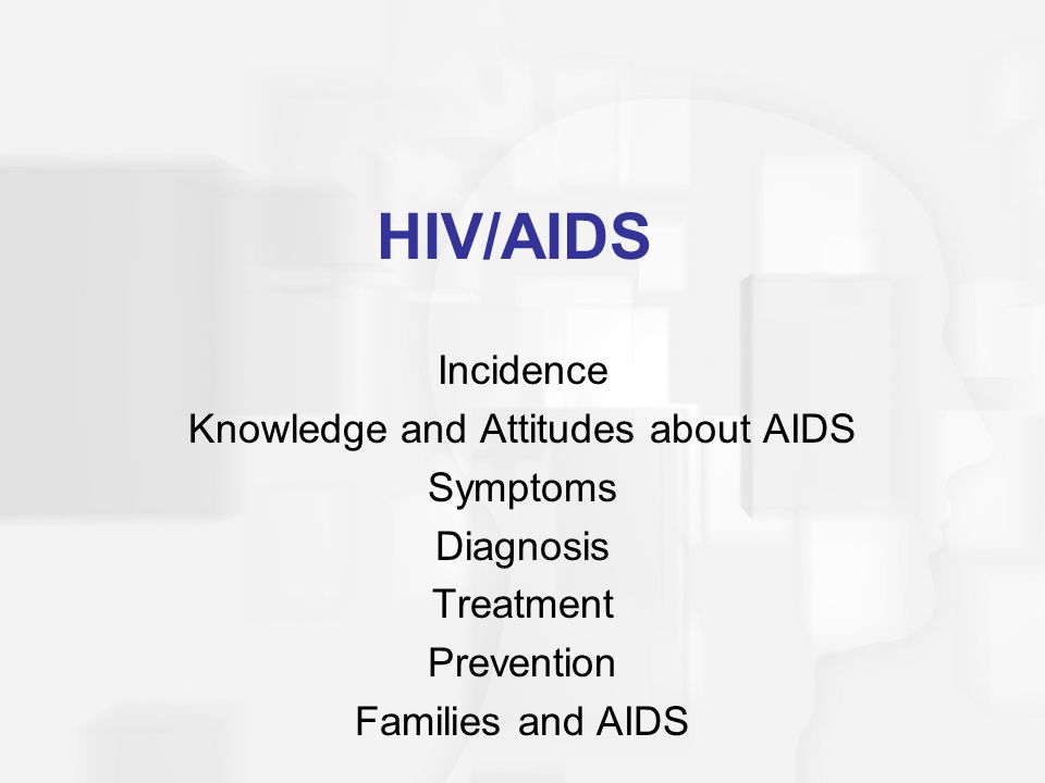 Knowledge and Attitudes about AIDS