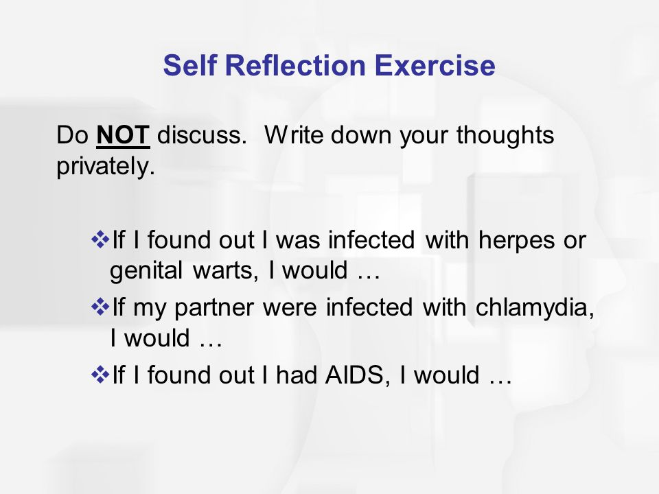 Self Reflection Exercise
