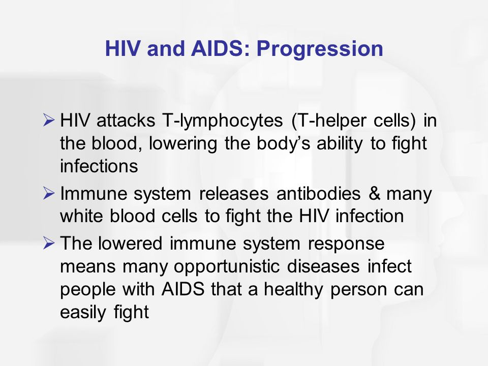 HIV and AIDS: Progression