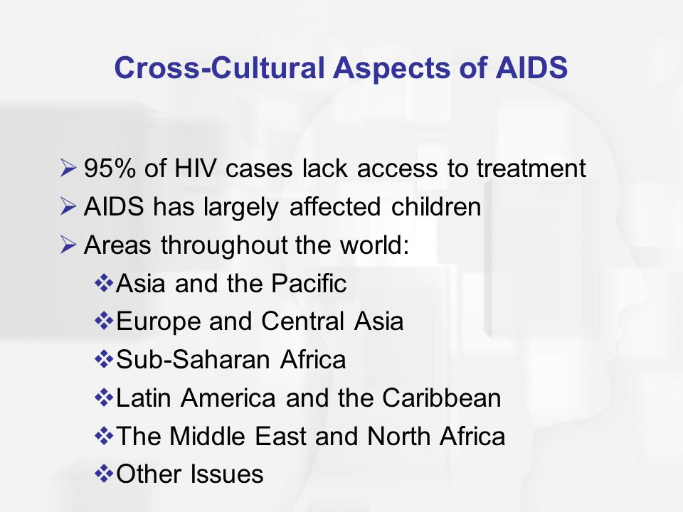 Cross-Cultural Aspects of AIDS