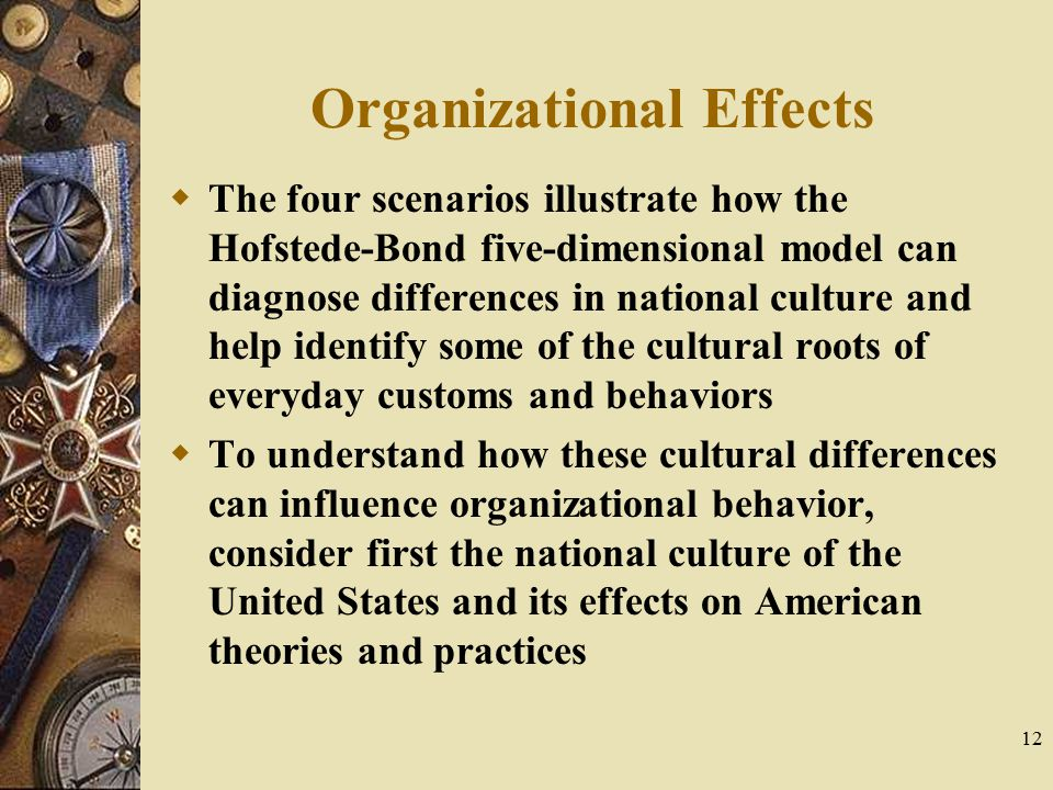 Organizational Effects