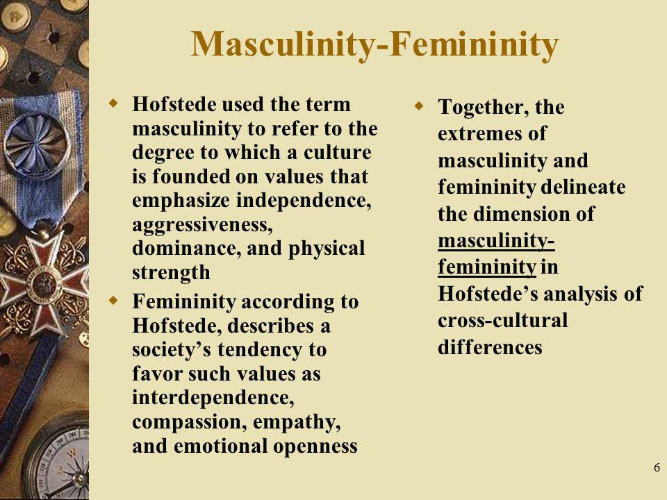 Masculinity-Femininity