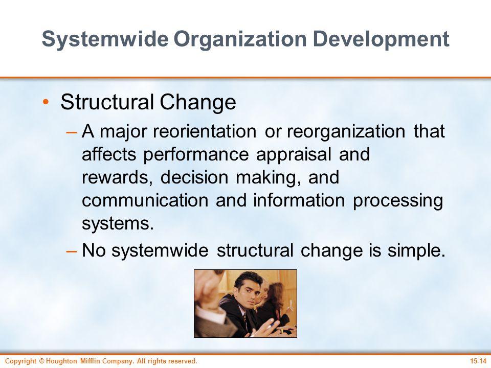 Systemwide Organization Development