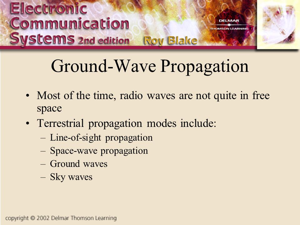 Ground-Wave Propagation