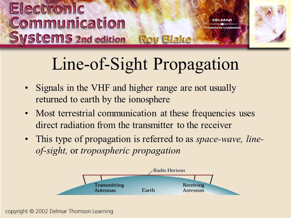 Line-of-Sight Propagation
