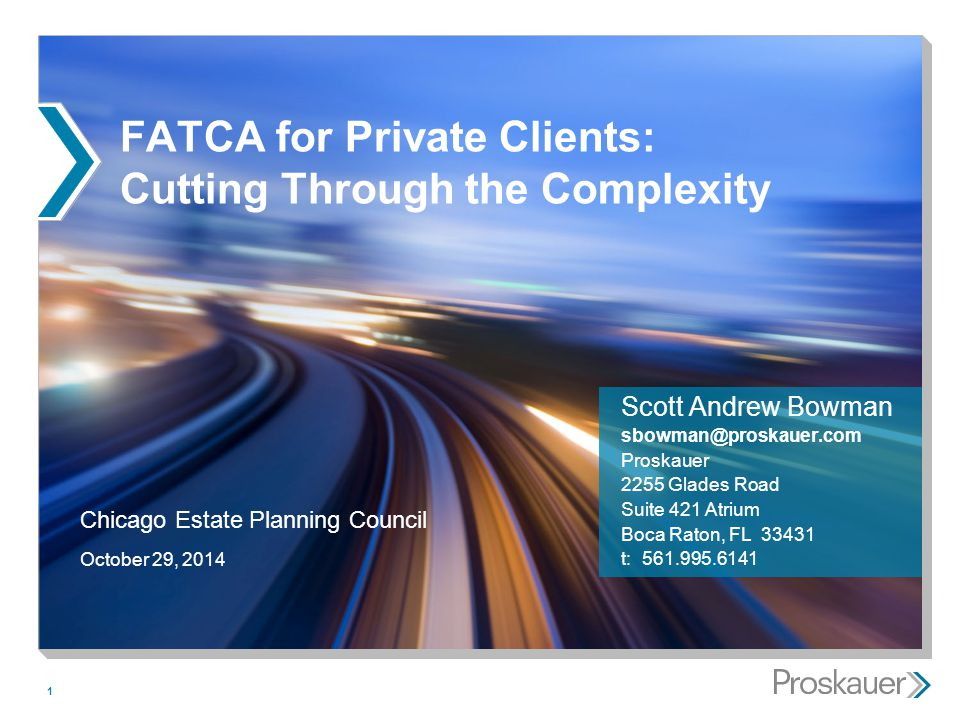 FATCA for Private Clients: Cutting Through the Complexity