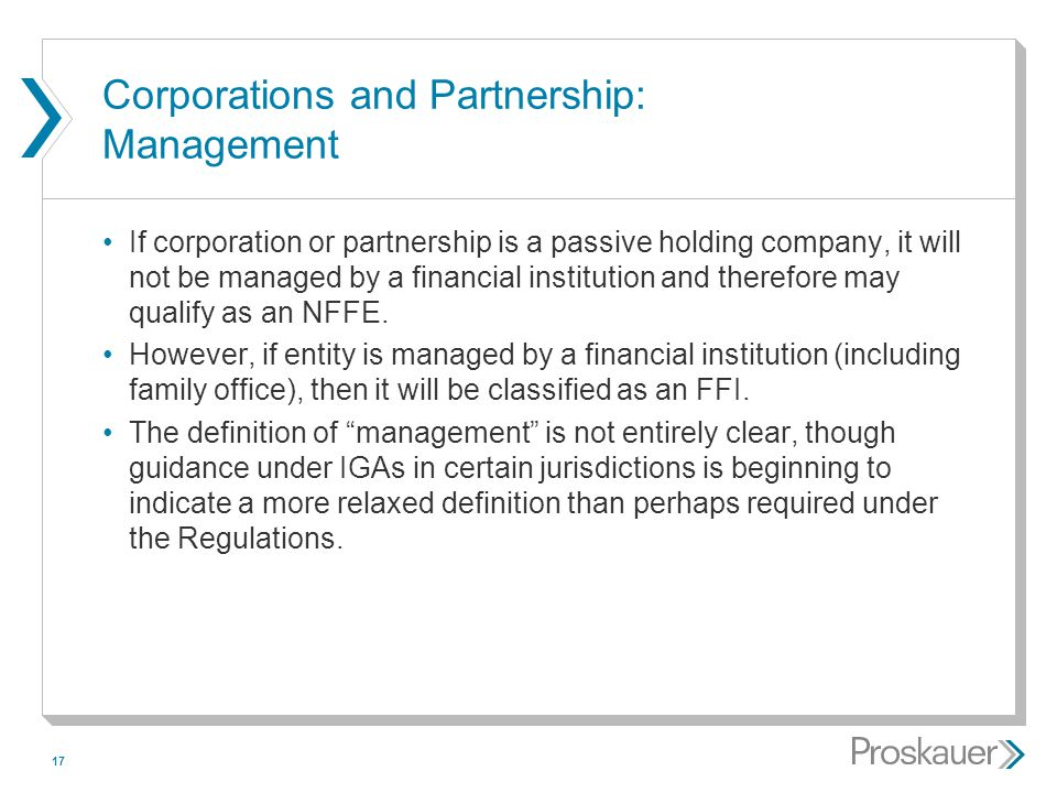 Corporations and Partnership: Management