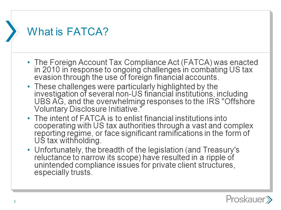 What is FATCA