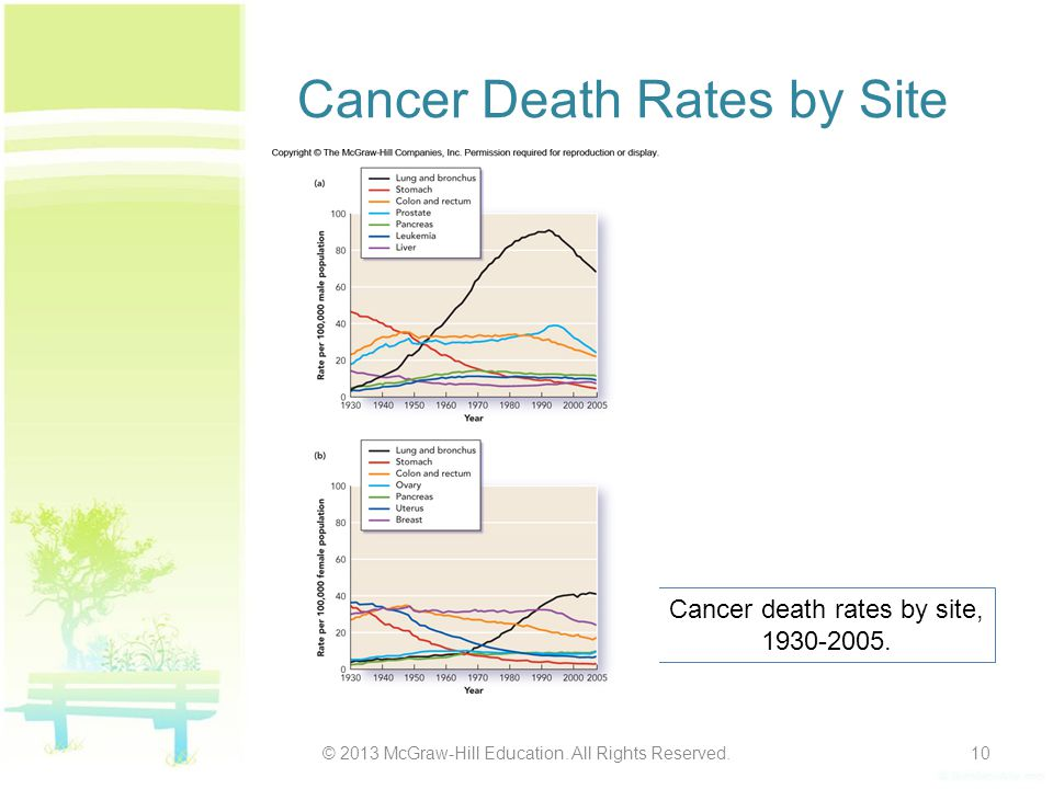 Cancer Death Rates by Site