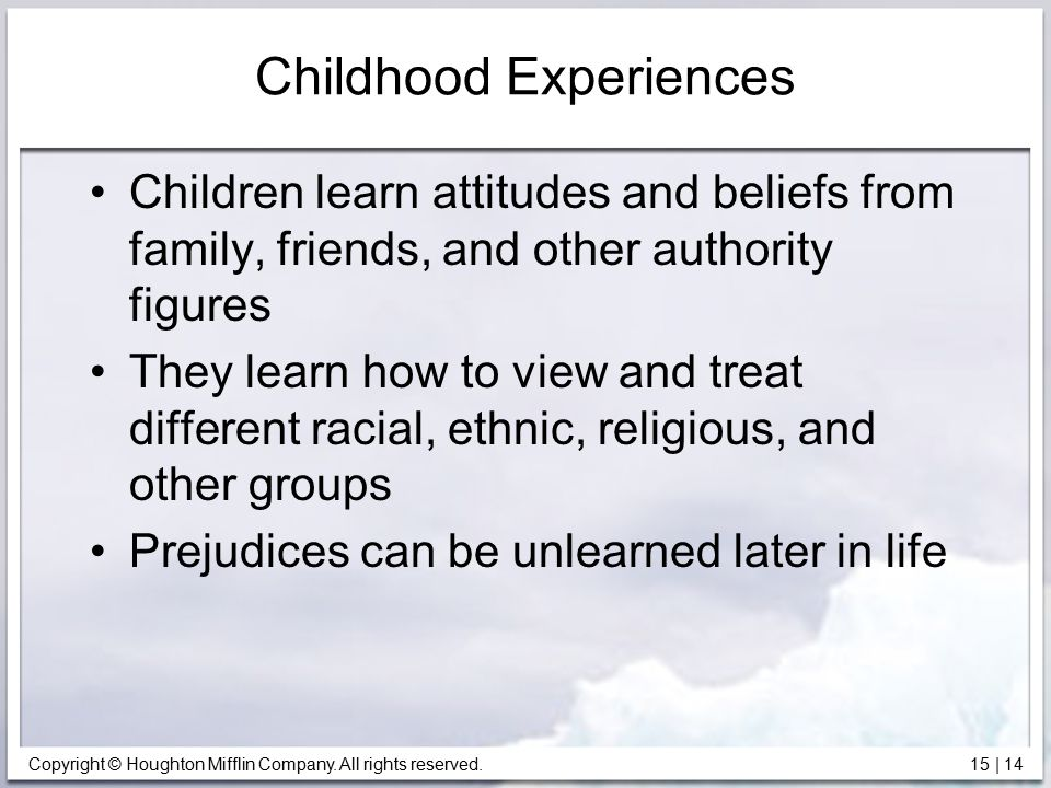 Childhood Experiences