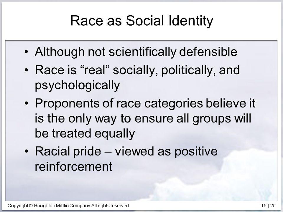 Race as Social Identity