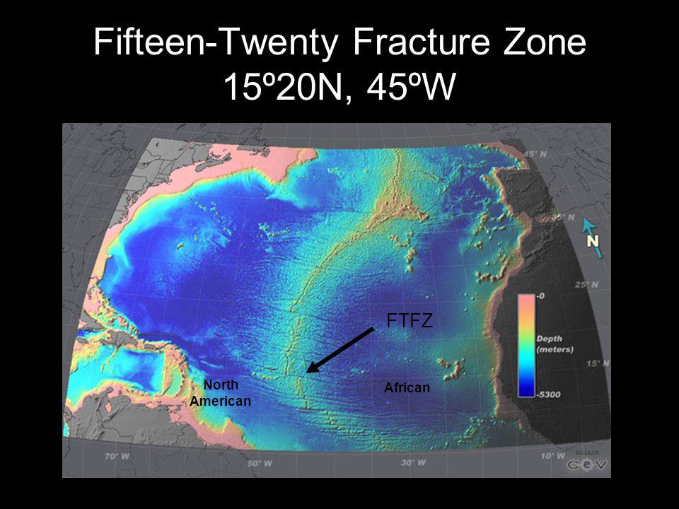 Fifteen-Twenty Fracture Zone 15º20N, 45ºW