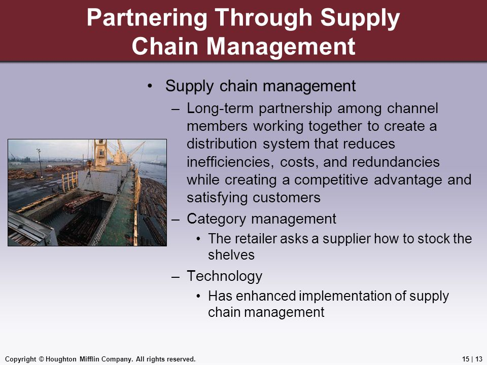 Partnering Through Supply Chain Management