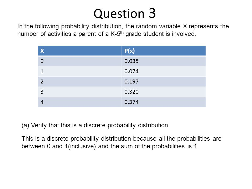 Question 3