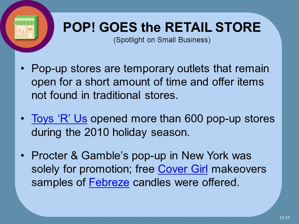 POP! GOES the RETAIL STORE (Spotlight on Small Business)