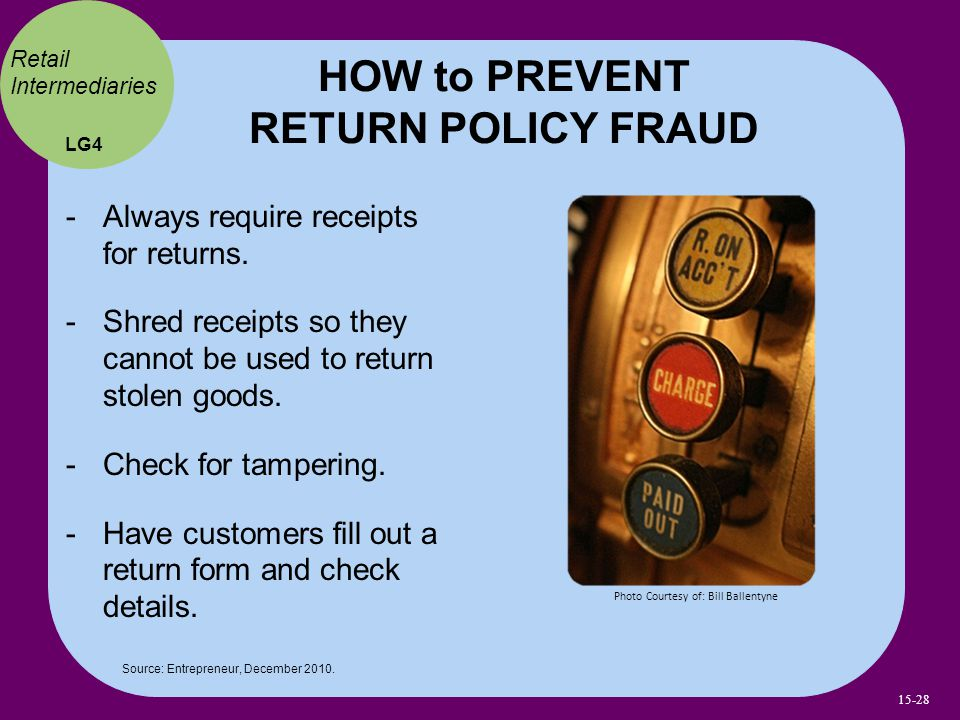 HOW to PREVENT RETURN POLICY FRAUD
