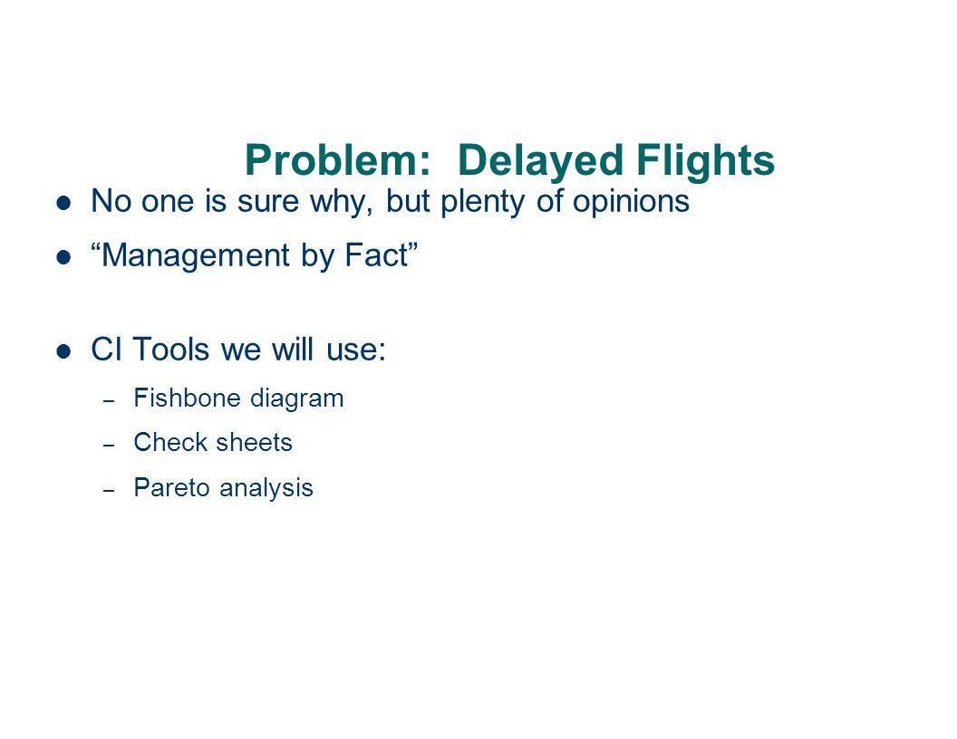 Problem: Delayed Flights