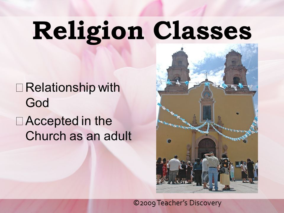 Religion Classes Relationship with God