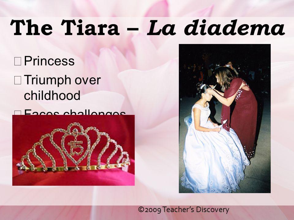The Tiara – La diadema Princess Triumph over childhood
