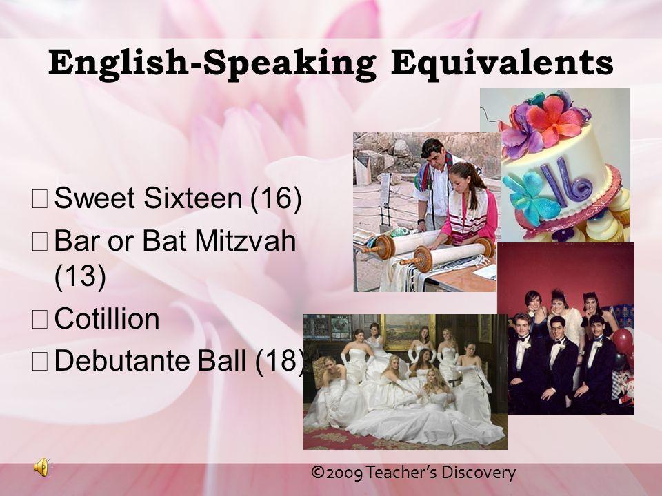 English-Speaking Equivalents