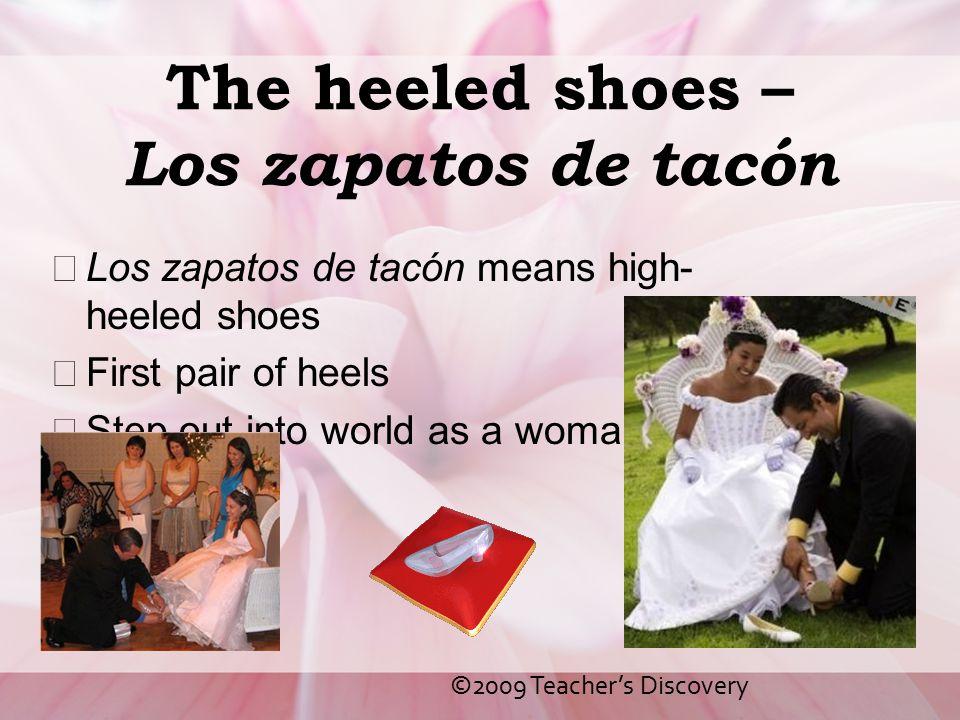The heeled shoes – Los zapatos de tacón