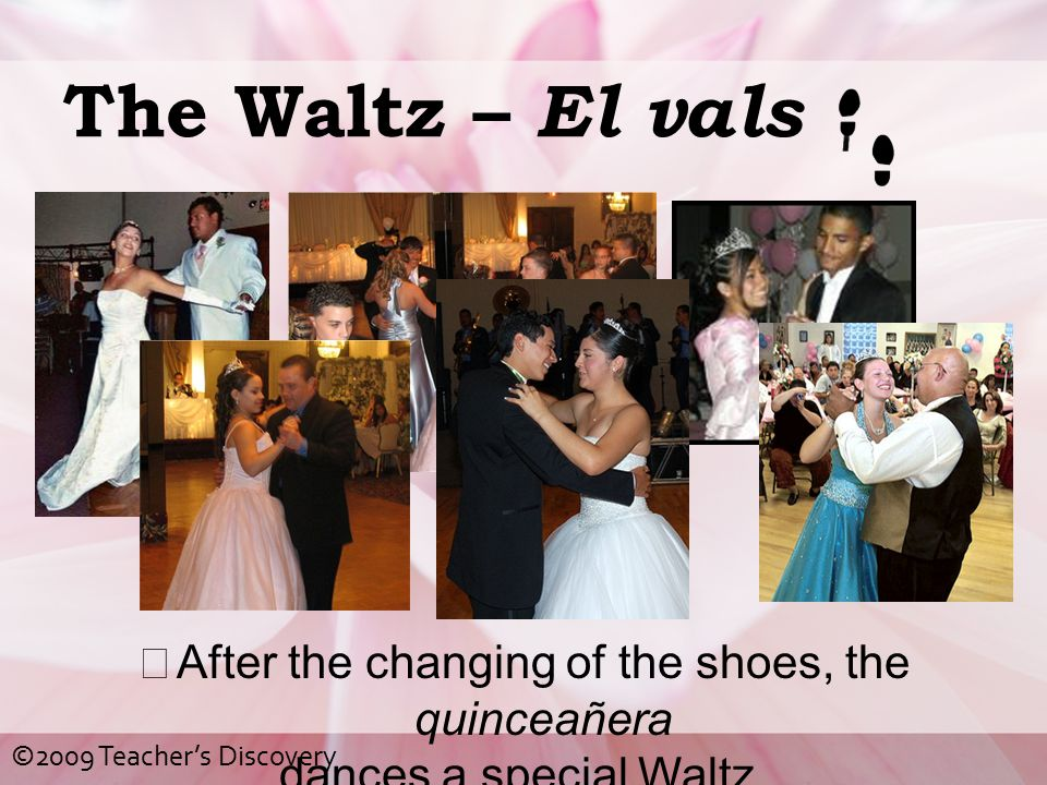 After the changing of the shoes, the quinceañera