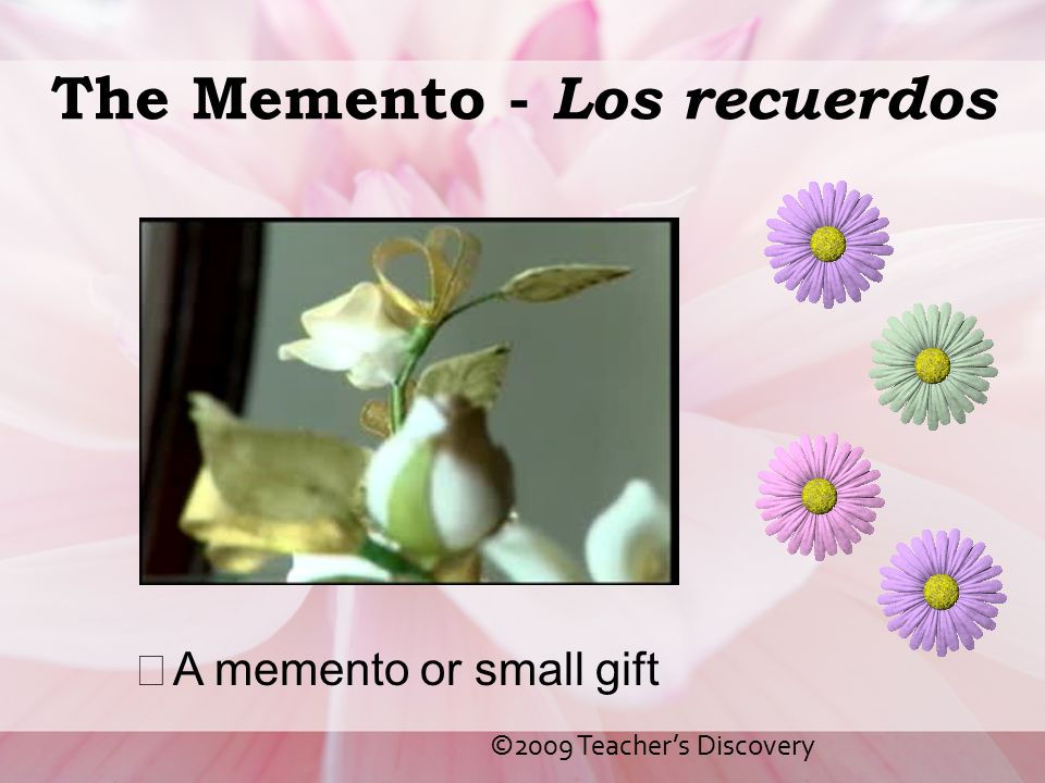 The Memento - Los recuerdos
