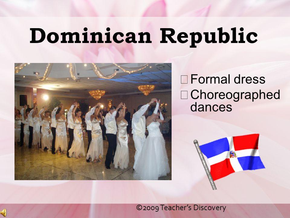 Dominican Republic Formal dress Choreographed dances
