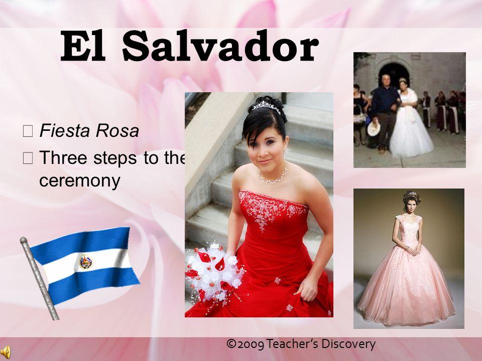 El Salvador Fiesta Rosa Three steps to the ceremony