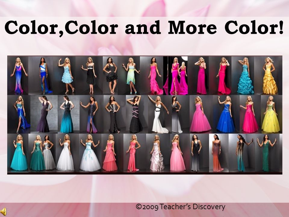 Color,Color and More Color!
