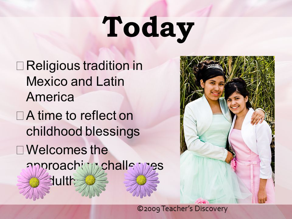 Today Religious tradition in Mexico and Latin America