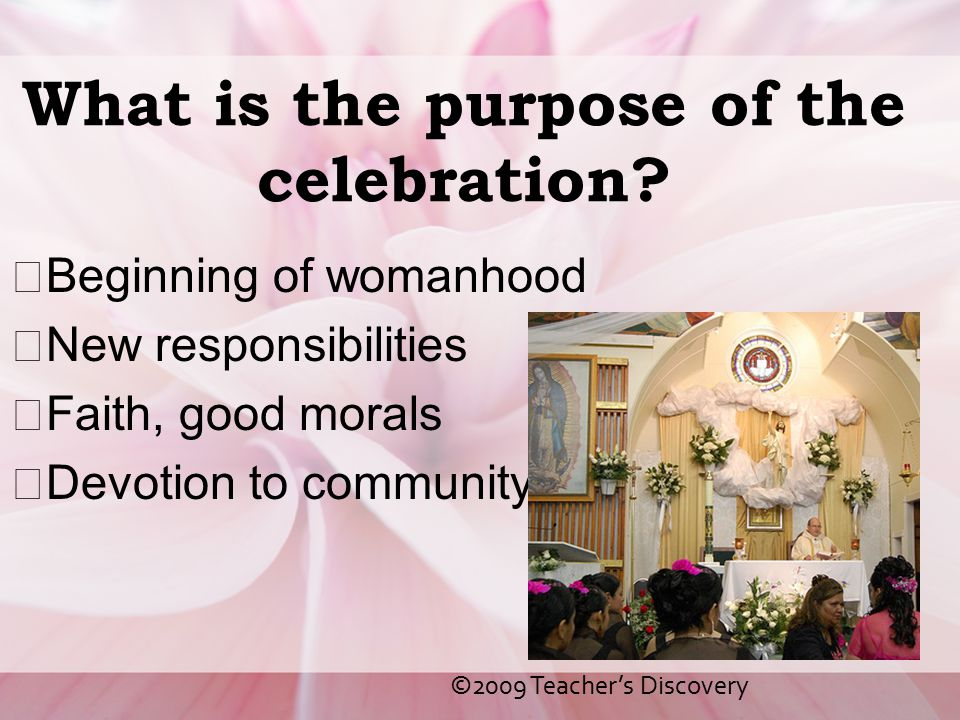 What is the purpose of the celebration